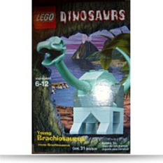 Young Brachiosaurus Dinosaurs Mini Set