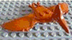 lego pteranodon dark orange minifigure hard-to-find
