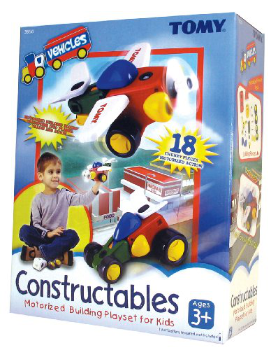 Constructables Motorized Building Vehicle