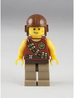 Dino Hero With Tranquilizer Belt Minifigure