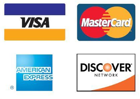 All Bank cards Accepted and PayPal